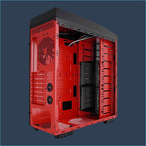 Gabinete Full Tower Solano 1000 Preto 10084-3 - AZZA