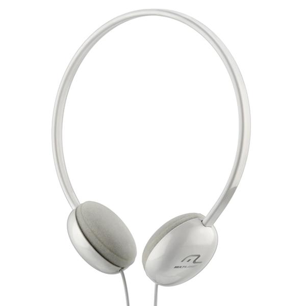 Fone Headphone Basico Branco PH064 - Multilaser