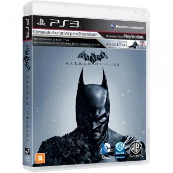 Jogo Batman Arkham Origins Edicao Limitada PS3 WG1656BN - Warner