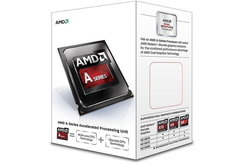 Processador FM2 A4 6300 Dual Core 1MB 3.7Ghz (Max Turbo 3.9Ghz) AD6300OKHLBOX - AMD