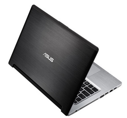 Notebook Intel Core I7 3537U, 6GB, 1TB+24GB SSD, DVD-R, Windows 8, Tela 14 S46CB-WX228H Preto - Asus