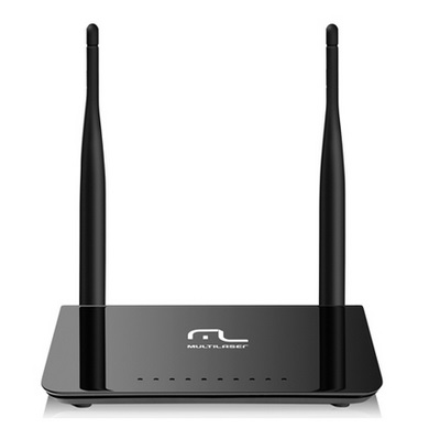 Roteador Wireless Dual Band 300mbps C/2 Antenas RE075 Até 600mbps - Multilaser