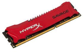 Memória HyperX Savage 4GB 2133Mhz DDR3 CL11 Vermelha HX321C11SR/4 - Kingston