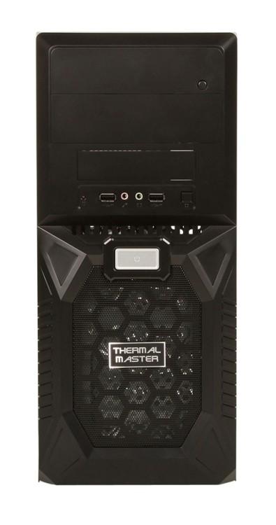 Gabinete Thermal 2 Baias c/Fonte 500W Preto TC-102-KKR500 - Cooler Master