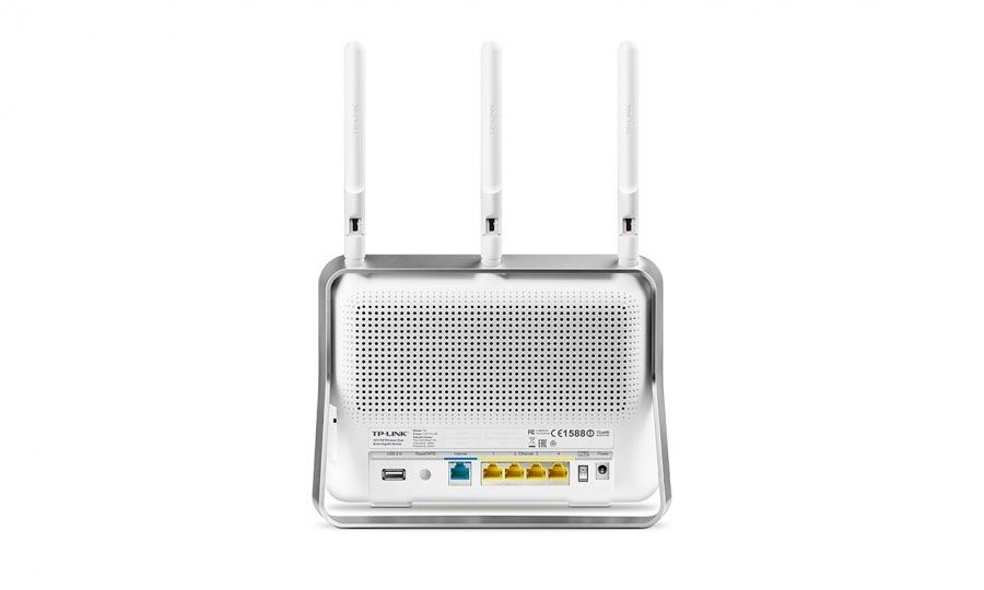 Roteador Archer C8 Wireless Gigabit AC1750 Dual Band TPL0262 - Tplink