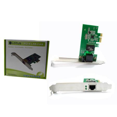 Placa de Rede 10/100/100Mbps PCI-Express PC0034 - Lotus
