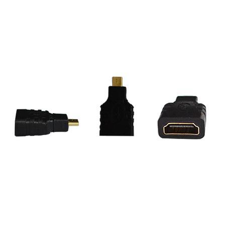 Adaptador HDMI Fêmea para micro HDMI Macho AD0136 - Exbom