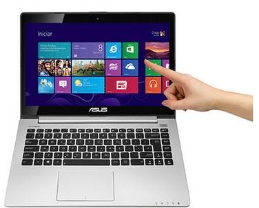 SALDÃO Notebook Ultrafino Intel Core I5, 4GB, HD 500GB, Tela 14, Windows 8, Preto S400CA-CA178H - Asus