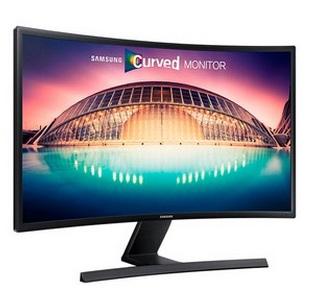 Monitor Dual View LED Curvo 27 HDMI Preto LS27E510CSMZD - Samsung