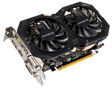 Placa de Vídeo R7 370 2GB DDR5 256Bit Windforce GV-R737WF2OC-2GD - Gigabyte