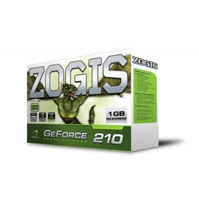 Placa de Video GeForce GT210 1GB DDR3 64Bits Pci-Exp ZO210-1GD3HP - Zogis