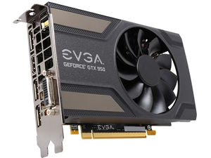 Placa de Vídeo Geforce GTX950 2GB DDR5 128Bit 02G-P4-2951-KR - EVGA