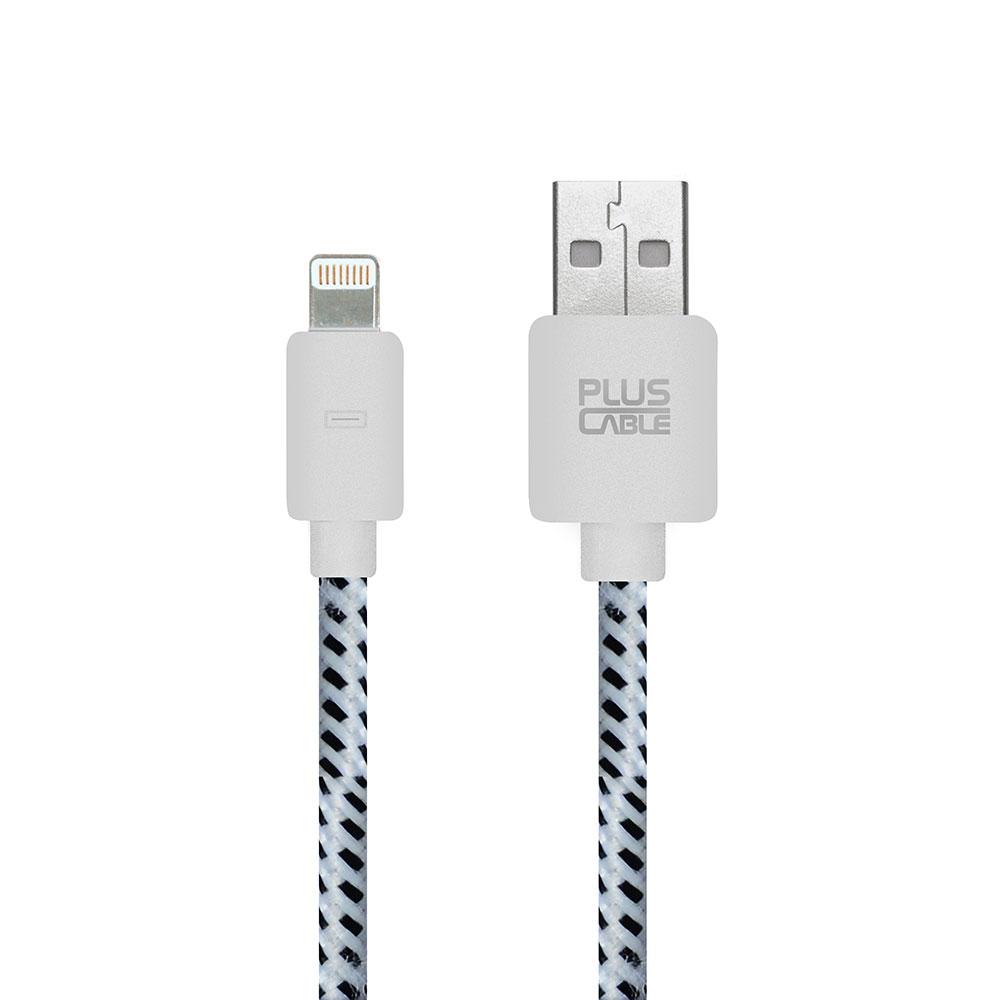 Cabo Micro USB Phone 5/6 LT- LT1002WH 1.0M Branco nylon 258636 - Pluscable