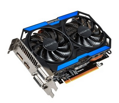 Placa de Vídeo Geforce GTX960 2GB DDR5 128Bit GV-N960OC-2GD - Gigabyte