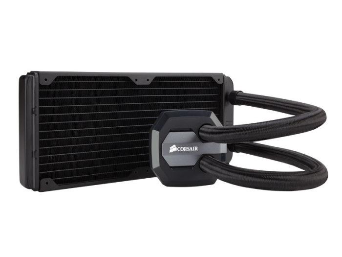 Water Cooler H100i GTX Radiador 240mm CW-9060021-WW - Corsair