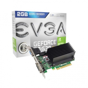 Placa de Video GeForce GT630 2GB DDR3 128Bits Low Profile 02G-P3-2633-KR - EVGA