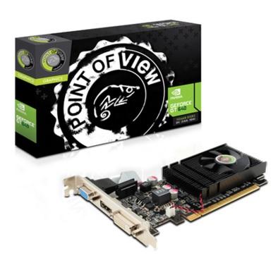 Placa de Vídeo Geforce GT640 1GB DDR3 128Bits VGA-640-C1-1024 - Point Of View