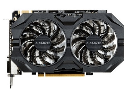 Placa de Vídeo Geforce GTX950 2GB OC Windforce 2 DDR5 GV-N950WF2OC-2GD - Gigabyte