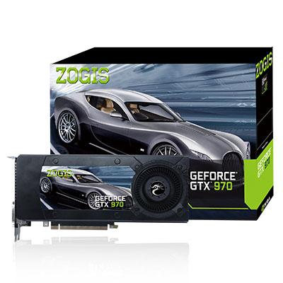 Placa de Vídeo Geforce GTX970 4GB DDR5 256Bits ZOGTX970-4GD5 - Zogis