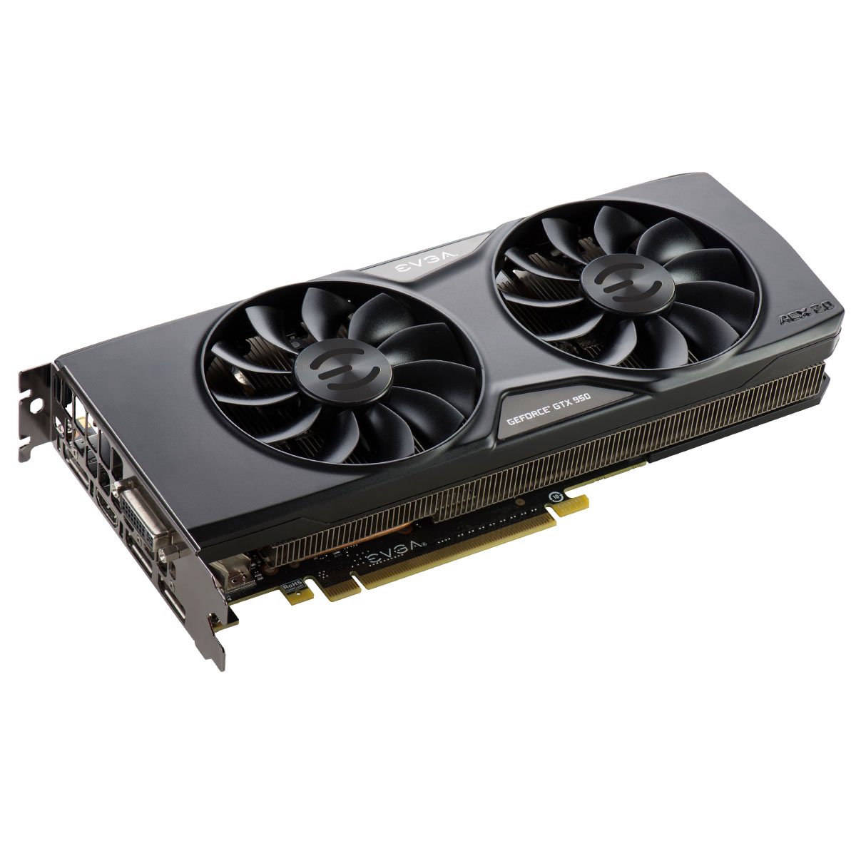 Placa de Vídeo Geforce GTX950 2GB SC Gaming ACX2.0 DDR5 128Bits 02G-P4-2956-KR - EVGA