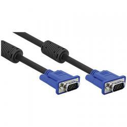 Cabo VGA para Monitor HD15M x HD15M 5 Metros Preto 14623 - Pcyes