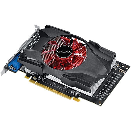 Placa de Vídeo Geforce GTX750 TI Black OC Sniper Edition 2GB DDR5 128Bits 75IPH8DVF4CB - Galax
