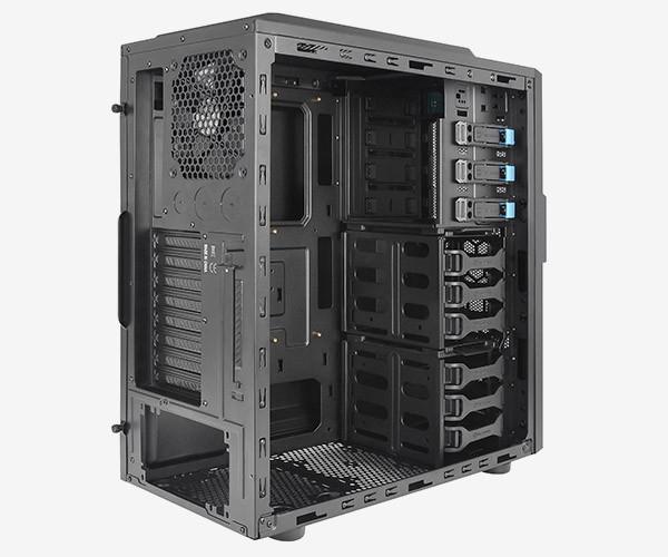 Gabinete Commander G42 Mid Tower com USB 3.0 CA-1B5-00M1NN-00 Preto - Thermaltake