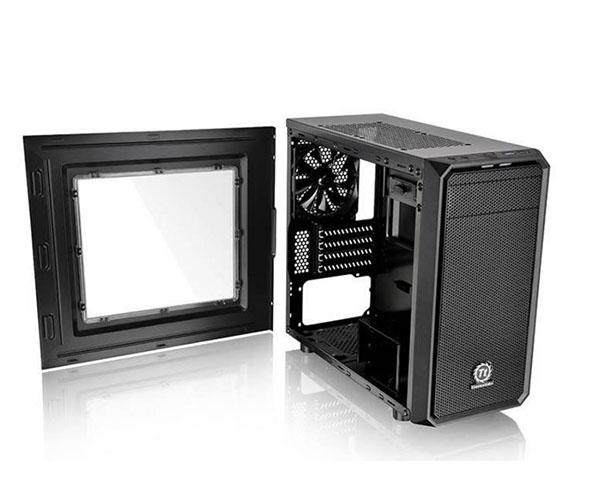 Gabinete Versa H15 Window CA-1D4-00S1WN-00 Preto S/Fonte - Thermaltake
