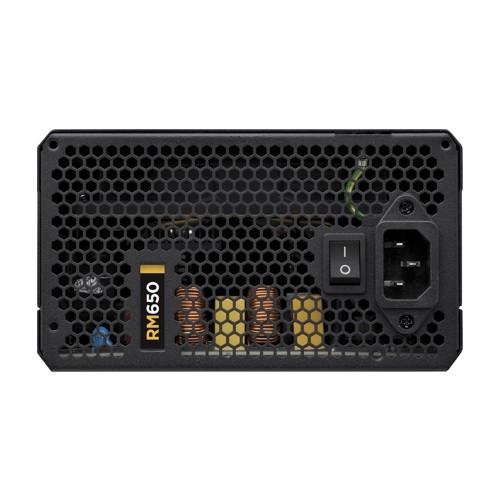 Fonte ATX 650W RM650 Plus Gold CP-9020054-WW Modular - Corsair