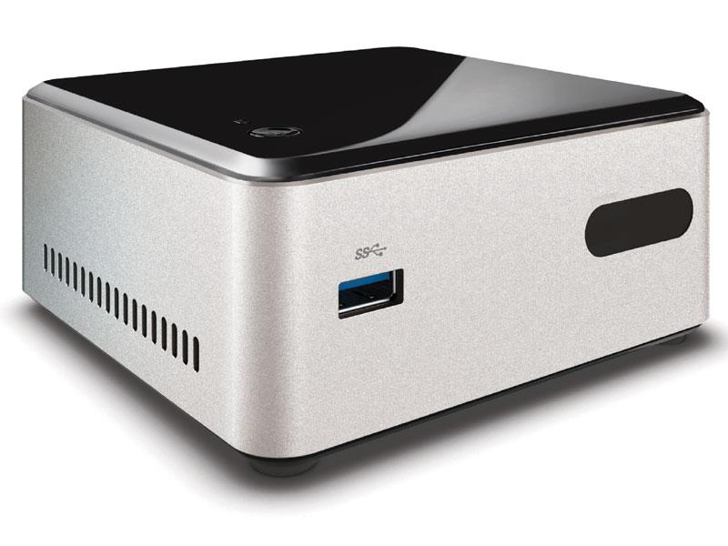 Computador Ultratop NUC Intel Dual Core N2830 4GB HD 500GB HDMI USB Rede Linux CN28304500 - Centrium