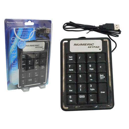 Teclado Numérico USB TC0008 - OEM