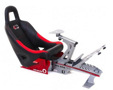 Cockpit WS One Aluminium (Black/Red) WSOA - Winseats