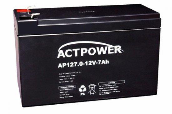 Bateria 12V 7A para Nobreak ap127 - ACT Power