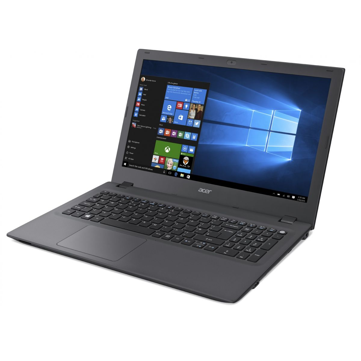 Notebook E5-573G-58B7 Intel Core i5 Mem 8GB HD 1TB GeForce 920M 2GB LED 15.6 Windows 10 Cinza - Acer