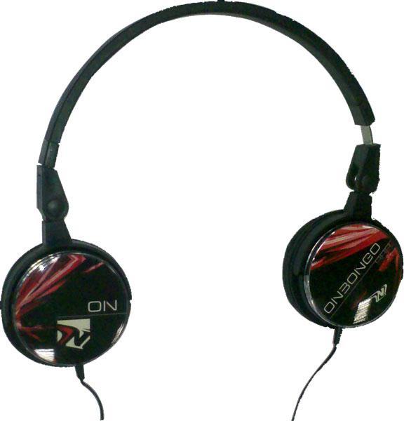 Fone Profissional Personalizavel Preto NB-F90P - Onbong