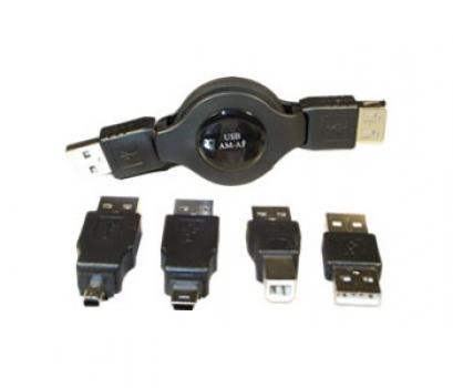Kit Adaptador Retratil USB 1399 - Leadership