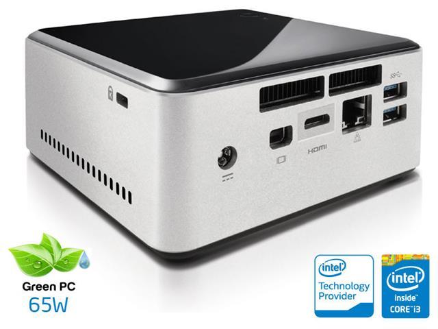 Desktop Intel Nuc Ultratop C40304128 Core i3 4030U 4GB SSD 128GB Mini HDMI USB Rede Linux  - Intel