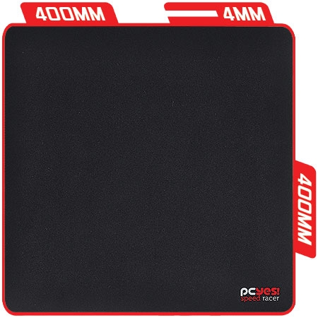 Mouse Pad Gamer Speed Racer 400X400X4MM 23590 - PCYES