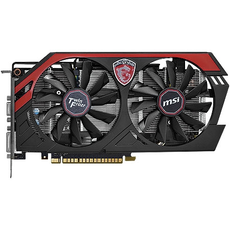 Placa de Vídeo Geforce GTX750TI 2GB DDR5 128Bits Twin Frozr N750TI TF 2GD5 / OC - MSI