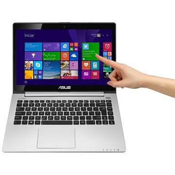 Notebook S400CA-CA215H Intel Core i5 4GB 500GB Tela Touch Led 14 HDMI WiFi Windows 8 - ASUS