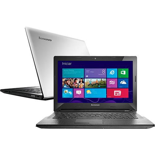 Notebook G40-70 80GA000BBR Intel Core I7 4GB 1TB LED 14 Prata Windows 8.1 - Lenovo
