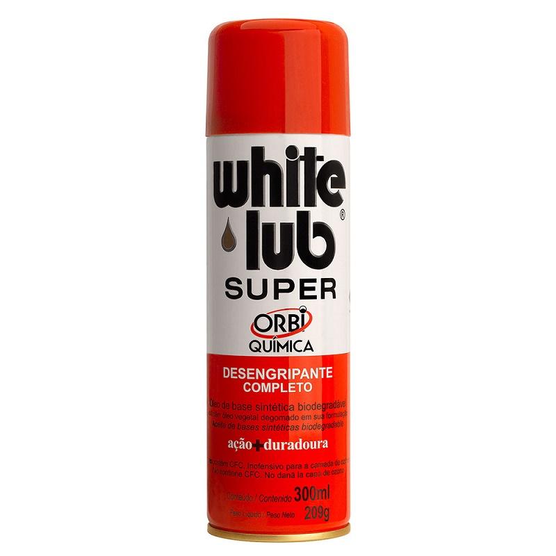 Desengripante Aerosol 300ml White Lub Super 244684 - Orbi Química
