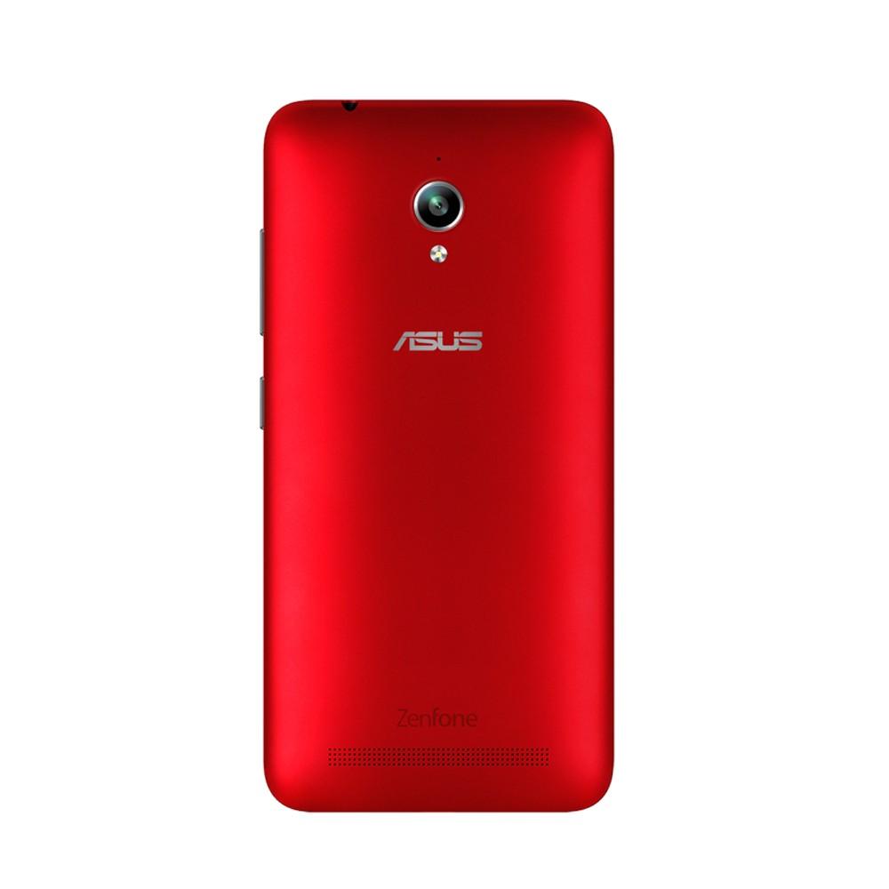 Smartphone Zenfone Go ZC500TG-1C053BR, Quad Core, Android 5.1, Tela 5, 16GB,Câmera 8MP,3G, Dual Chip Vermelho - Asus