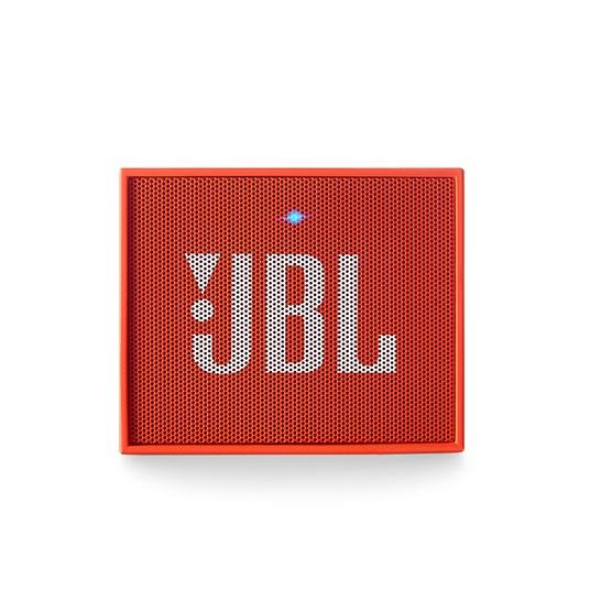 Caixa de Som JBL GO Bluetooth (Bateria Recarregável) Laranja JBLGOORG - JBL