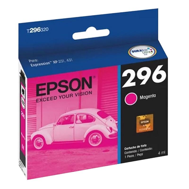Cartucho de Tinta Margenta T296320 Compatível XP231 e XP431 - Epson