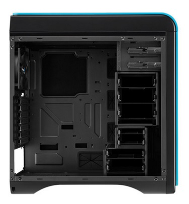 Gabinete DS 200 Window Blue sem Fonte EN52599 - Aerocool
