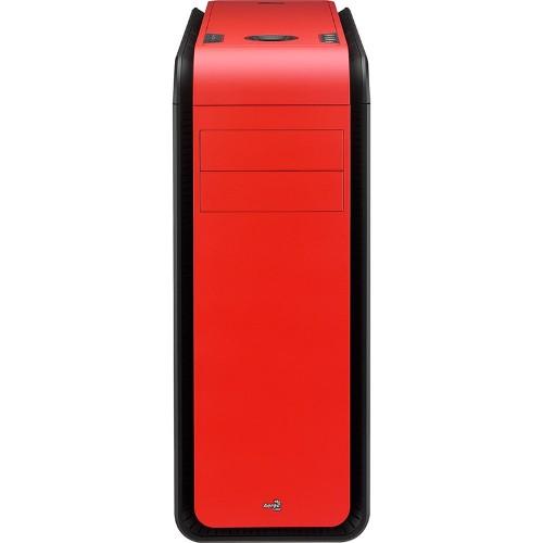 Gabinete DS 200 Window Red sem Fonte EN52582 - Aerocool