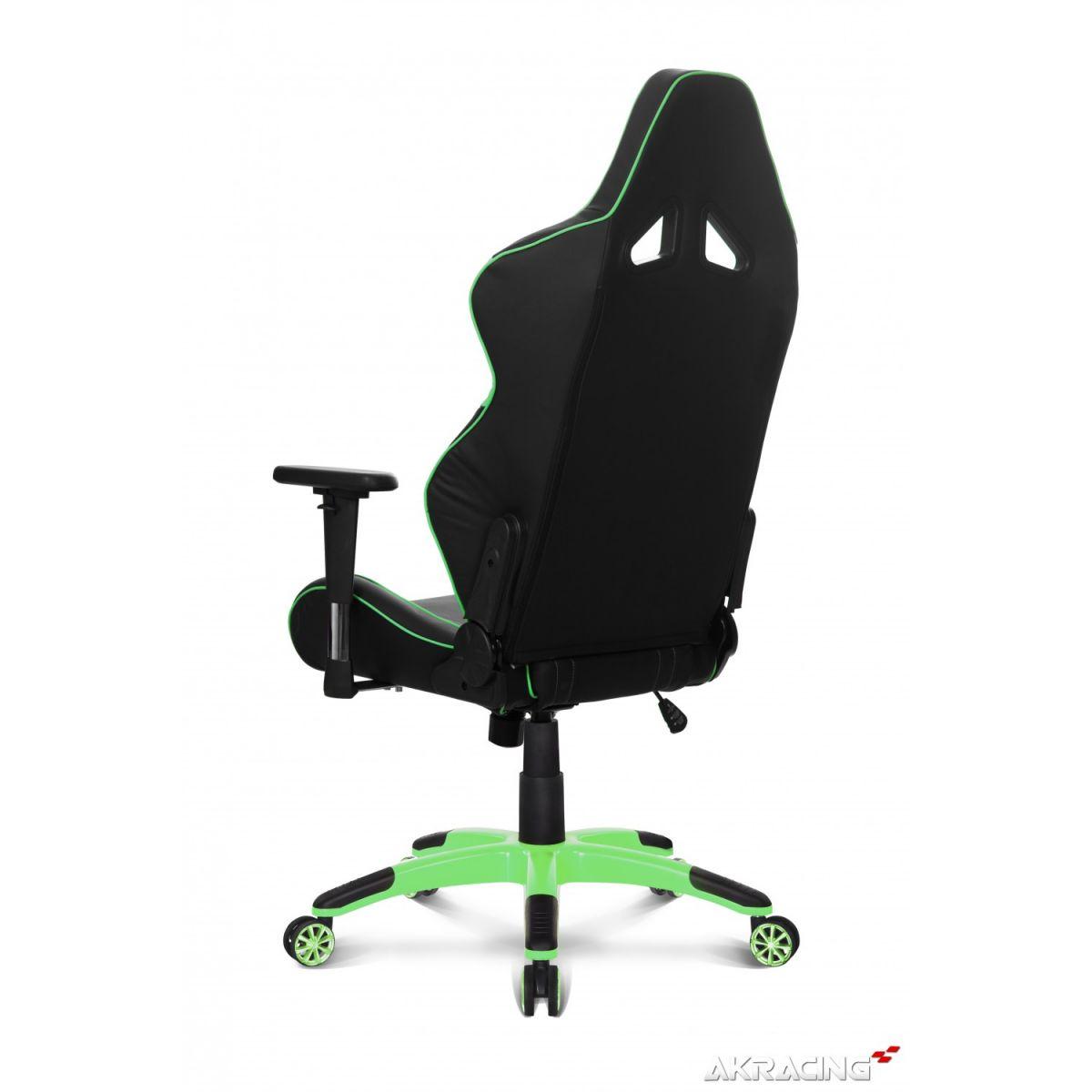 Cadeira AKRacing K601G (ML-1172 GN) Preta/Verde - AKRacing