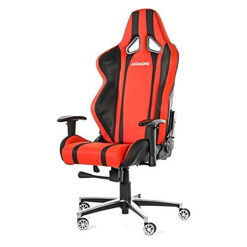 Cadeira AKRacing Inferno Black Red Carbon AK-6012-BB - AKRacing