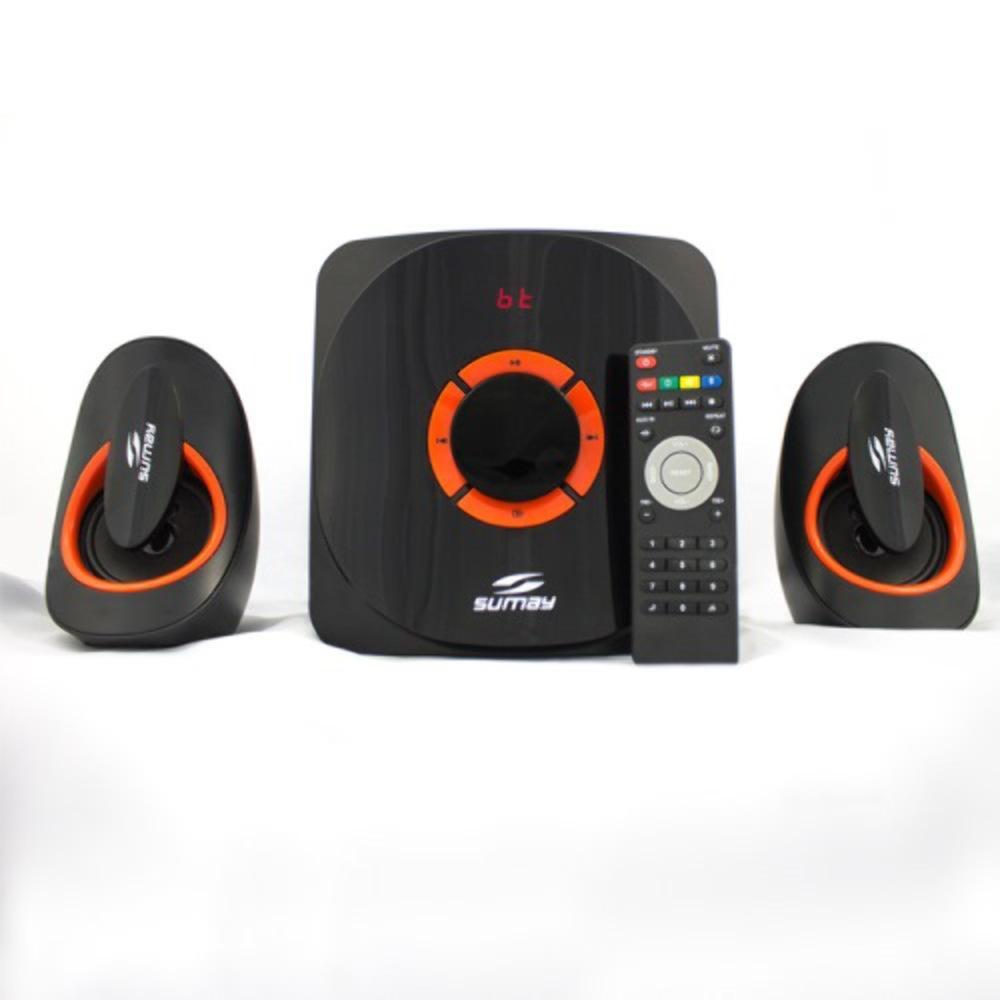 Caixa de Som Multimídia 2.1 Bluetooth SM-CS3313B Bivolt - Sumay